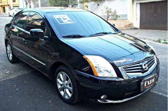 Nissan Sentra S 2.0 Flex Automatico Preto 2012