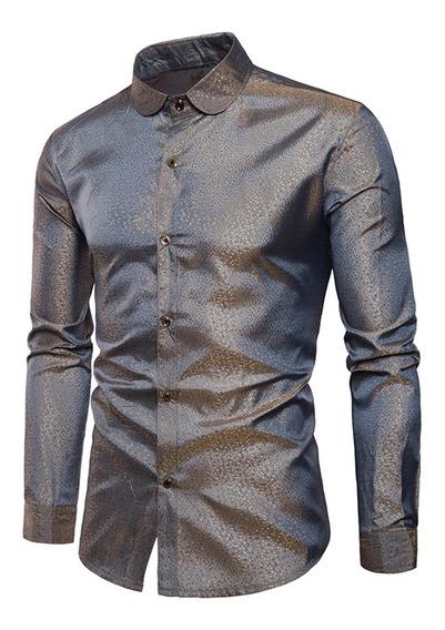 Camisa Collar Brillante Punto Limpiabotas