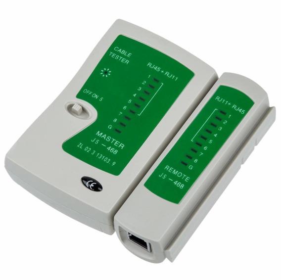 Tester De Red Rj45 Rj11 Probador Redes Utp Telefonia Oferta