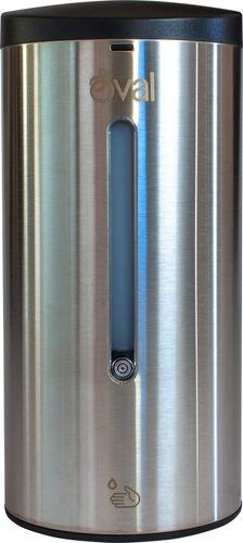 Imagen 1 de 9 de Jabonera Automática/despachador Gel Acero Inoxidable 700 Ml