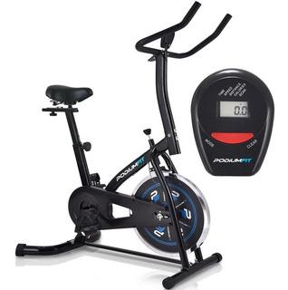 Bicicleta Ergométrica Spinning Podiumfit S100 Silenciosa 8kg