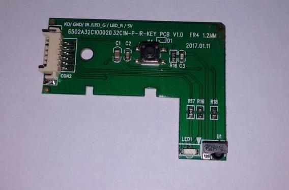Placa Botão Power Funções Sensor Ir Tv Philco Ph32c10dsgw