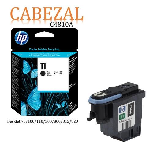 Imagen 1 de 1 de Cabezal Hp 11 C4810a Color Negro Plotter Dj 500 510 800