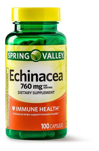Echinacea Equinacea 750 Mg Salud Inmune Inmunologico 100 Cap