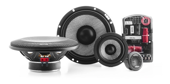 Focal Set Medios Access 165as3 6.5 80w Rms 160w Max 3 Vías