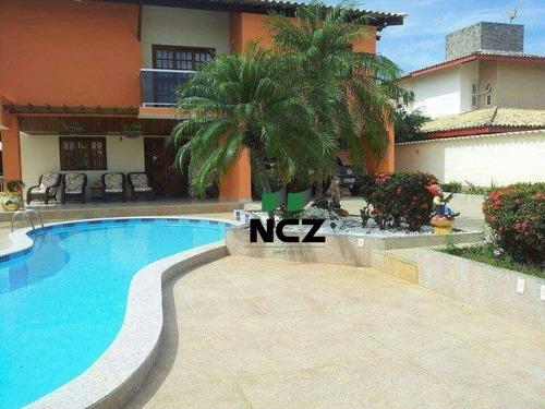 Imagem 1 de 24 de Casa Com 4 Dormitórios, 750 M² - Venda Por R$ 1.600.000,00 Ou Aluguel Por R$ 6.500,00/mês - Vilas Do Atlântico - Lauro De Freitas/ba - Ca3512