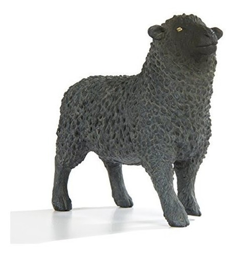 Safari Ltd. Farm - Black Sheep - Construccion De Calidad A
