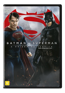 Batman Vs Superman - A Origem Da Justiça - Dvd