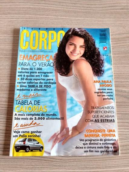 Revista Corpo A Corpo 93 Ana Paula Arósio Ano 1996 795
