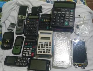 Celulares,calculadoras ,mp3 Cameras
