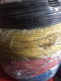 Cable Thw Electricidad Cresmer 100% Cobre Rollo 100 Mts