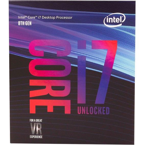 Processador Intel 1151 Core I7-8700k Coffee Lake 8a Geração