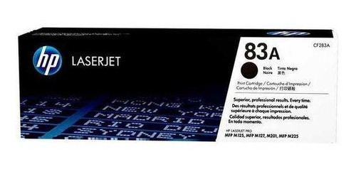 Cartucho De Toner Hp 83a Negro Laserjet Original Cf283a