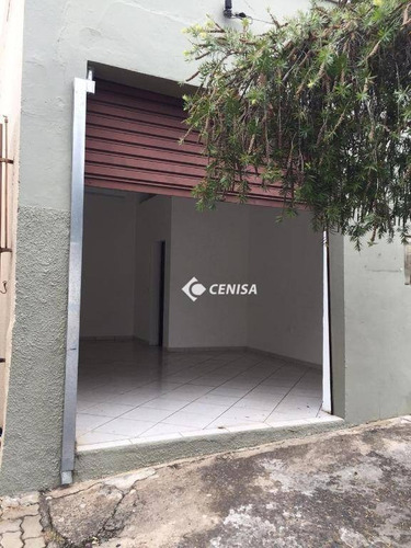Salão Para Alugar, 47 M² Por R$ 1.300,00/mês - Centro - Indaiatuba/sp - Sl0053