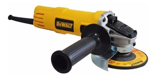 Imagen 1 de 5 de Mini Esmeriladora Industrial Angul 4-1/2 Dewalt Dwe4020-b3