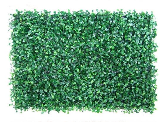 Placa Buchinho Artificial Muro Inglês Grande Paredes 60x40cm