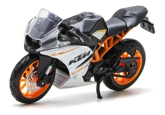Miniatura Moto Colecionador Ktm Rc 390 Maisto Escala 1:18