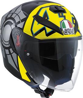 Casco Abierto Agv K-5 Jet E2205 Winter Test Valentino Rossi