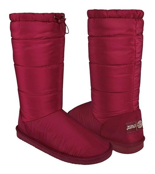 Botas De Invierno Para Dama Furor 30636 Borgoña