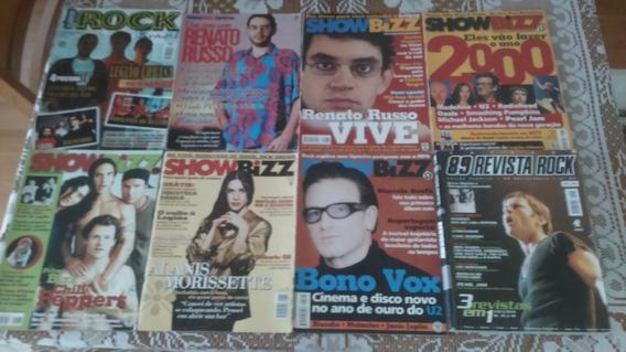 Revistas Showbizz Anos 90