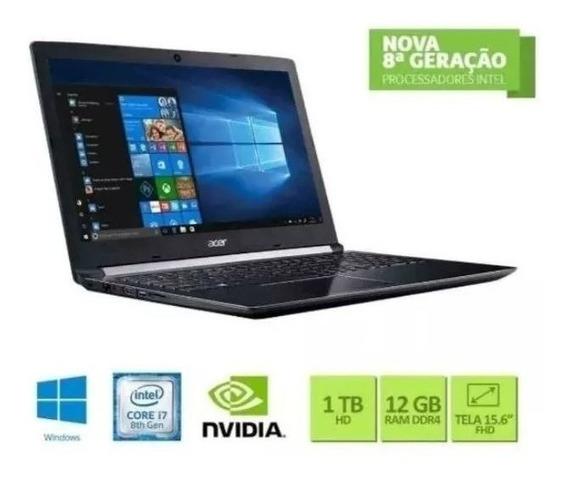 Notebook Acer Aspitre A515-51g-c1cw Core I7 12gb Mx130 1tb