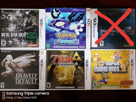 Jogos Nintendo Ds E 3ds