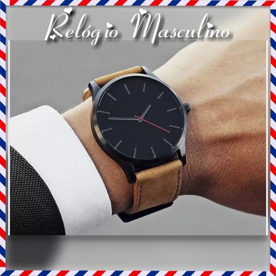 Relógio Masculino Social Barato Promoção Não Perca Tempo Esp