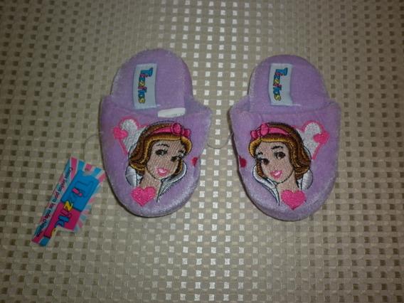 Pantuflas Para Niña Talla 19-20