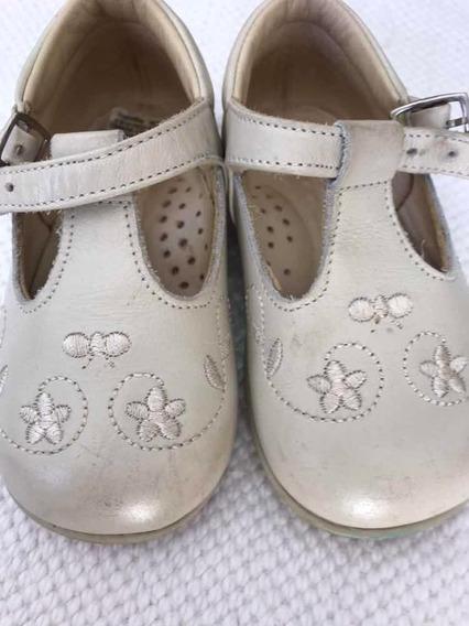 Zapatos De Cuero Nena