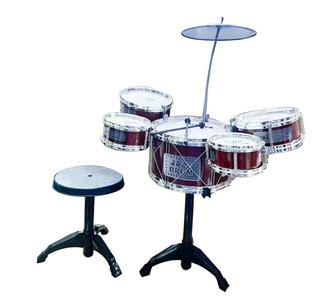 Set Bateria Musical 5 Tambores Juguete Para Niños