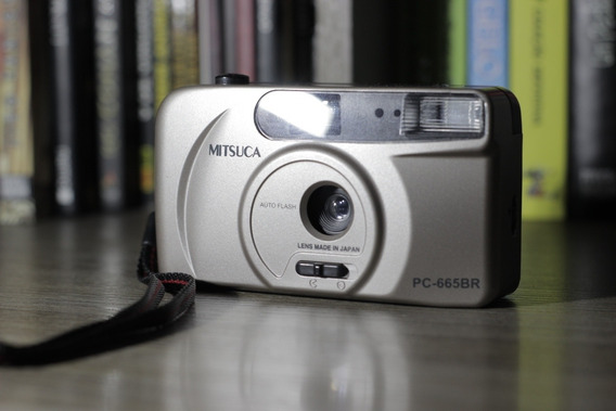 Câmera Mitsuca Antiga De Filma, Rara, Funcionando Perfeita.
