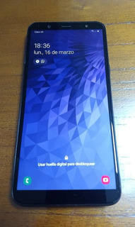 Celular Samsung Galaxy J8 32gb - Impecable - Liberado.
