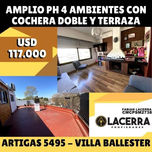Imagen 1 de 15 de Excelente Ph 4 Amb..doble Cochera Y Terraza! Nuevo Precio!