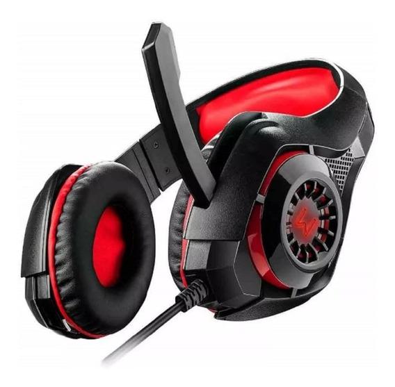 Fone Ouvido Headset Gamer C Led Warrior Ph219 Multilaser Ps4