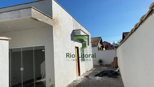 Casa À Venda, 68 M² Por R$ 240.000,00 - Terra Firme - Rio Das Ostras/rj - Ca1145