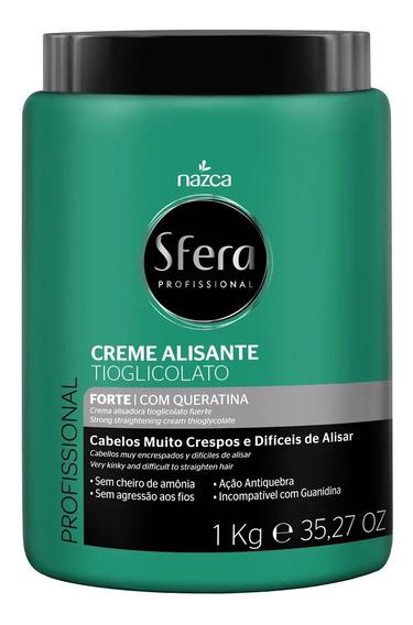 Nazca Sfera Creme Alisante Tioglicolato - Forte 1 Kilo