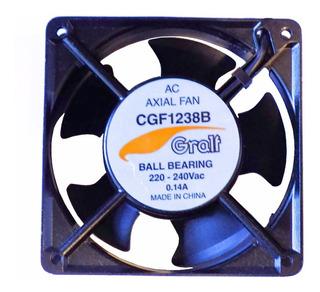 Turbina Cooler Gralf Ac 220v 0.14a 4 Pulgadas 120x38 Ruleman