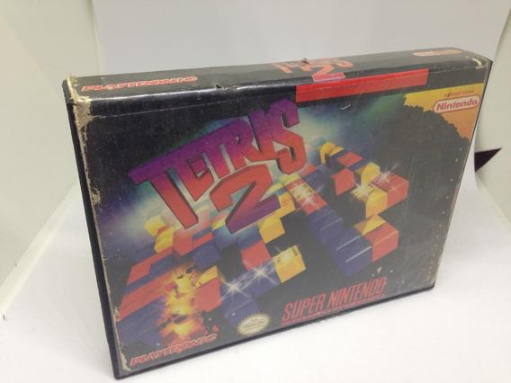 Apenas A Caixa - Tetris 2 - Super Nintendo Snes Playtronic L