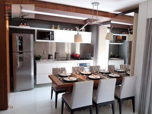 Apartamento À Venda, 83 M² Por R$ 1.700.000,00 - Brooklin - São Paulo/sp - Ap9886