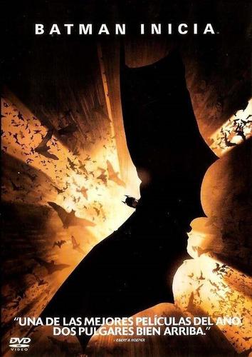 Dvd  Batman Inicia   (batman Begins)  Original  Sellada