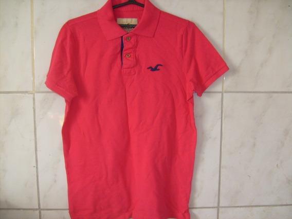 Camisa Polo Hollister Tamanho P Original Nova Importada Usa
