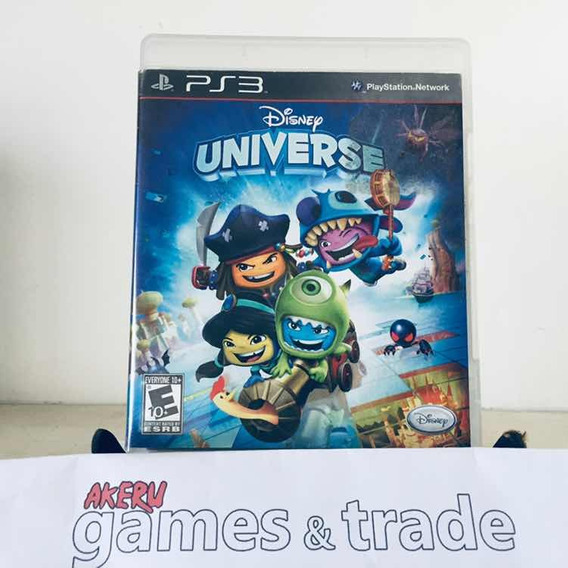 * Akeru Games * Disney Universe Ps3