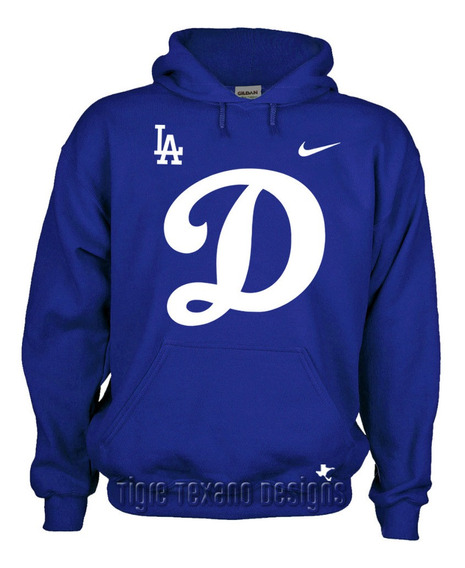 Sudadera Dodgers Los Angeles Mod. G By Tigre Texano Designs