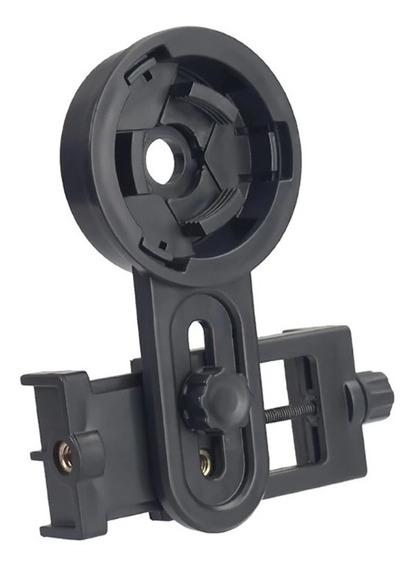 Suporte Adaptador Regulável P/ Telescópio Luneta P/ Celular