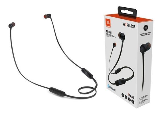 Fone De Ouvido Jbl Tune T110bt Bluetooth 110bt Lacrado Nfe