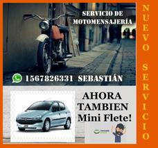 Moto Mensajeria San Justo Ramos Mejia Lomas Mirador Tablada