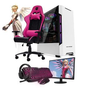 Pc Gamer Neologic Smt81371 I5 8gb (gtx 1650) Ssd 240+cadeira