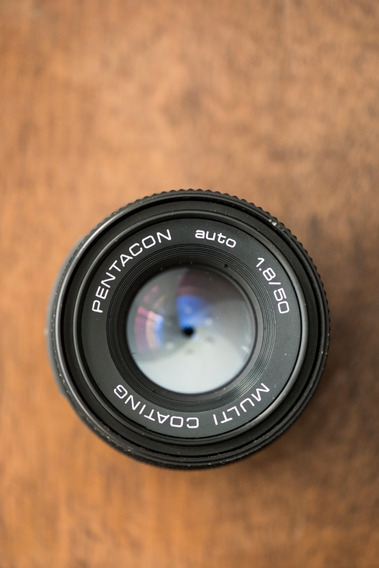 Lente Pentacon M42 - 50mm F/1,8 - Multi Coating