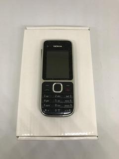 Nokia C2-01 - Só Funciona Tim - 3g, 3mp Fm Mp3 - Usado