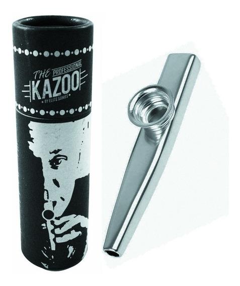 Kazoo Turbo Profissional Com Case Promoção C/ Frete Grátis